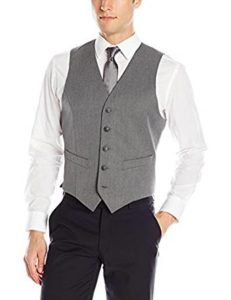 Heather slim-fit vest by Haggar
