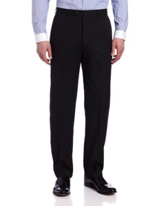 Men's two-button three-piece suit pants by Haggar