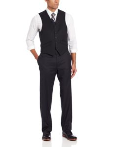 Men's two-button three-piece suit vest by Haggar