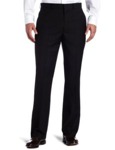 Men's black reaction suit pants by Kenneth Cole