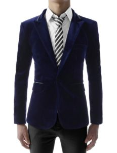 Slim fit one-button prom jacket by TheLees