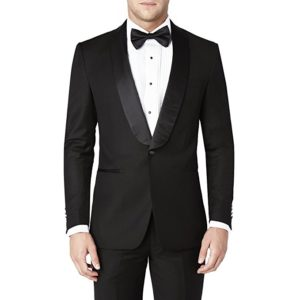 One-button slim fit prom suit by Sebastian Taheri