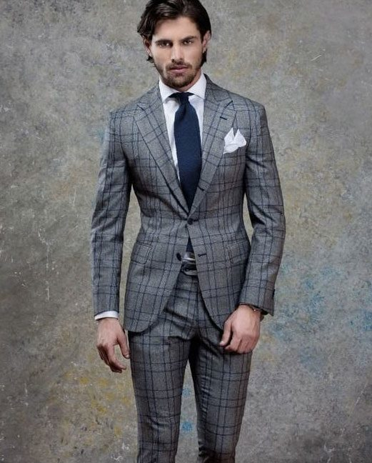 extra slim fit suit example