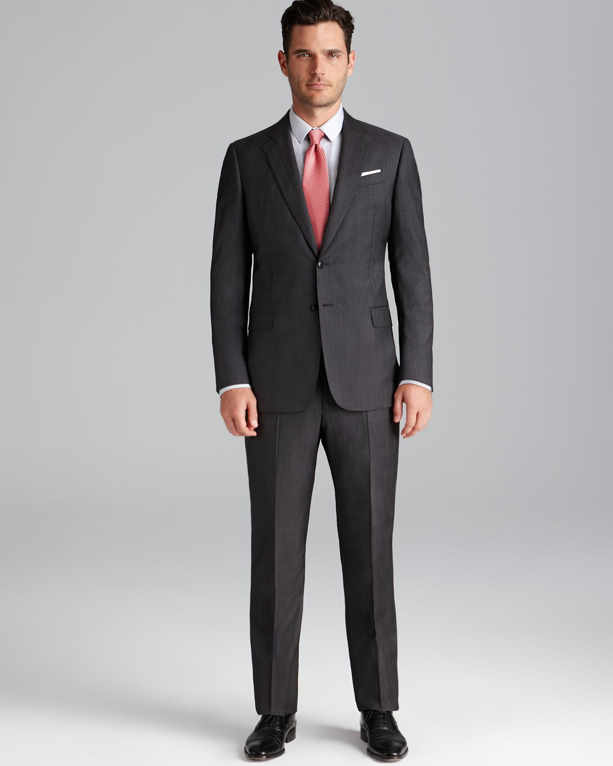 regular fit suit example