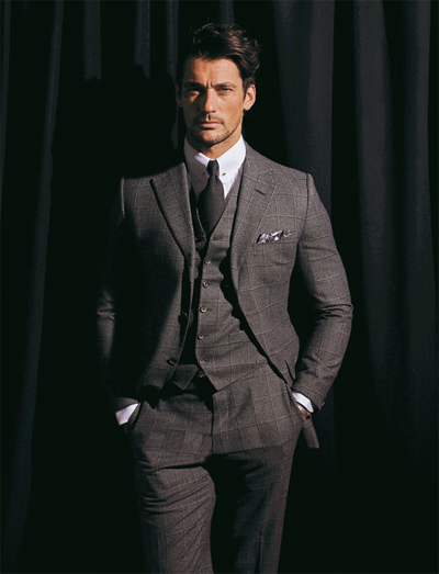 three piece suits example