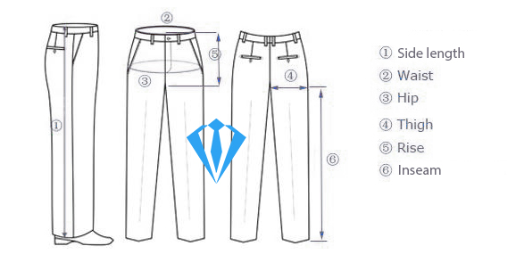 men's suit guide for pants