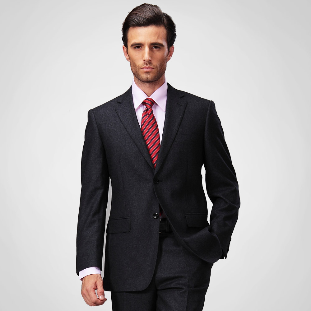 British suit cut example