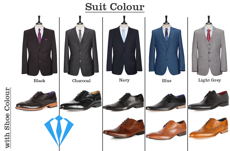 Suit and shoe color combinations suits expert for Color coordinated apps
