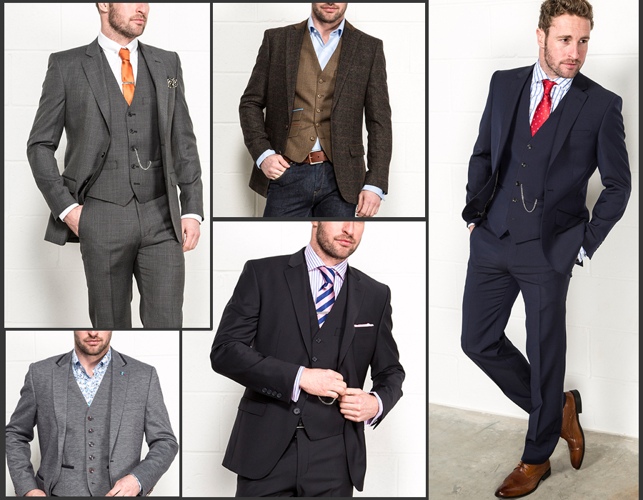 Different Suits & Ties color combinations