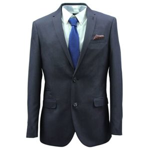 Custom tailored fit suit by Harry Brown