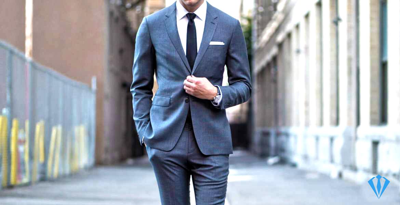 Classic fit suits for men