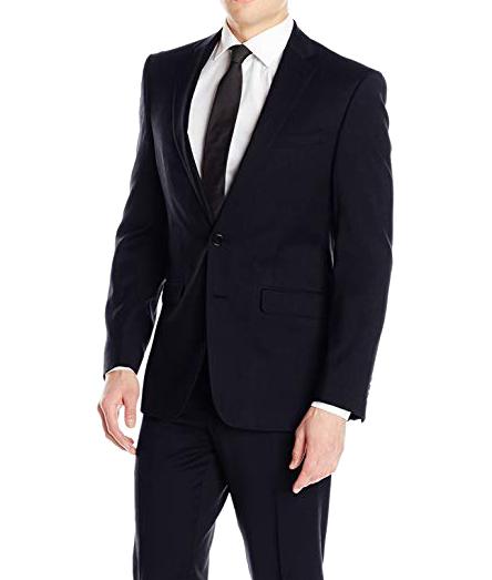 Calvin Klein X-fit notch lapel suit