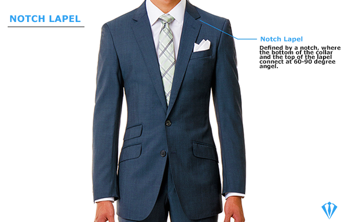 notch lapel type