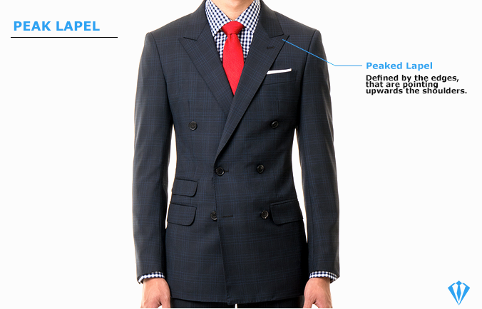 Peaked Lapel Suit type