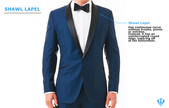 Shawl Lapel Suit Type