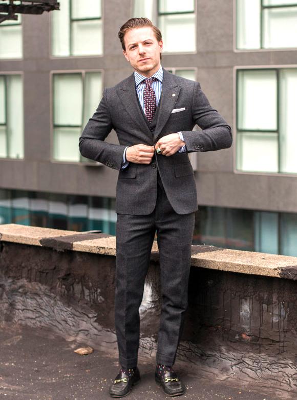 Suit fit for Short men