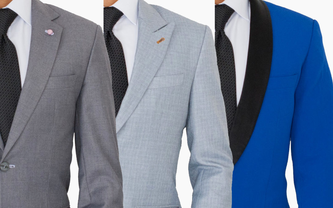 Suit Lapel Types: Notch Lapel vs. Peak Lapel vs. Shawl Lapel