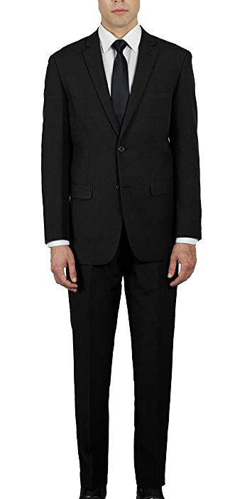 Alan Dupetit slim fit suit