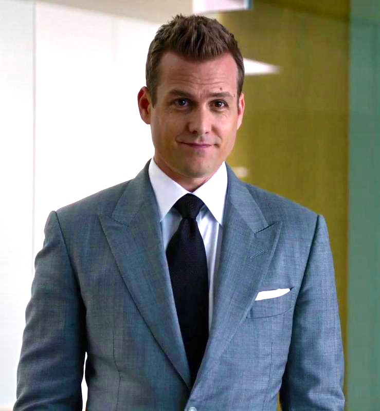 Fit your tie with your suit like Harvey Specter