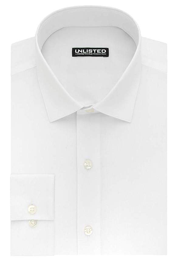 Kenneth Cole slim fit shirt in white color