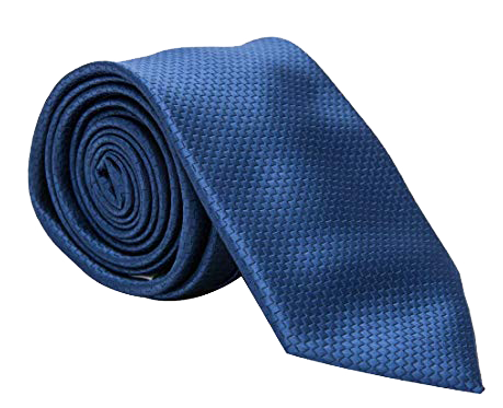 Pierre Cardin solid navy blue tie
