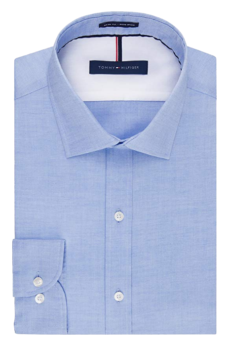 Slim fit blue shirt by Tommy Hilfiger
