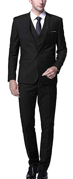 Yffushi slim fit three-piece suit