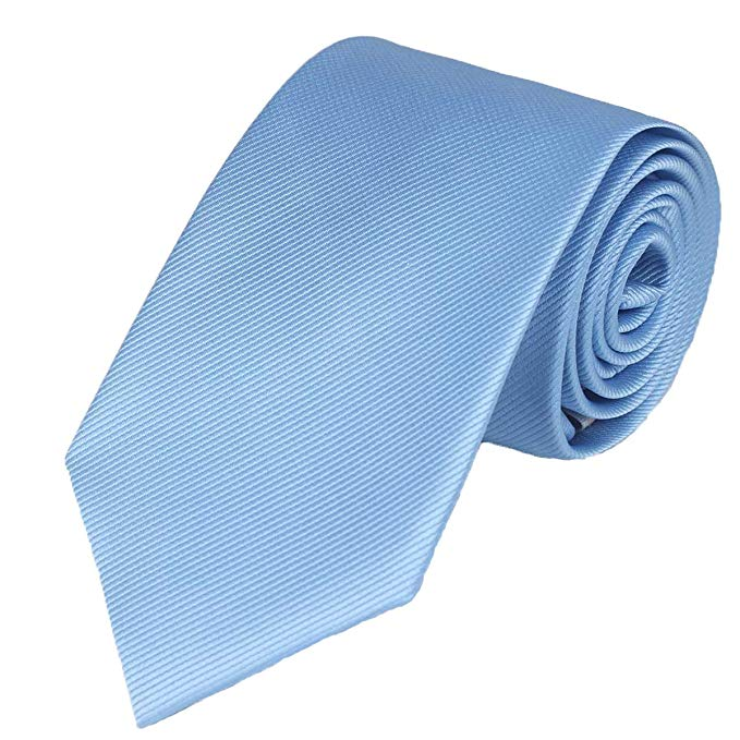 Solid sky blue tie by WITZROYS