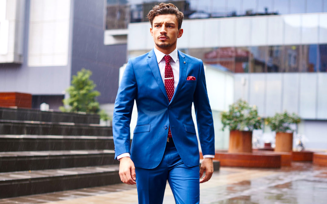 Blue Suit Color Combinations With Shirt and Tie