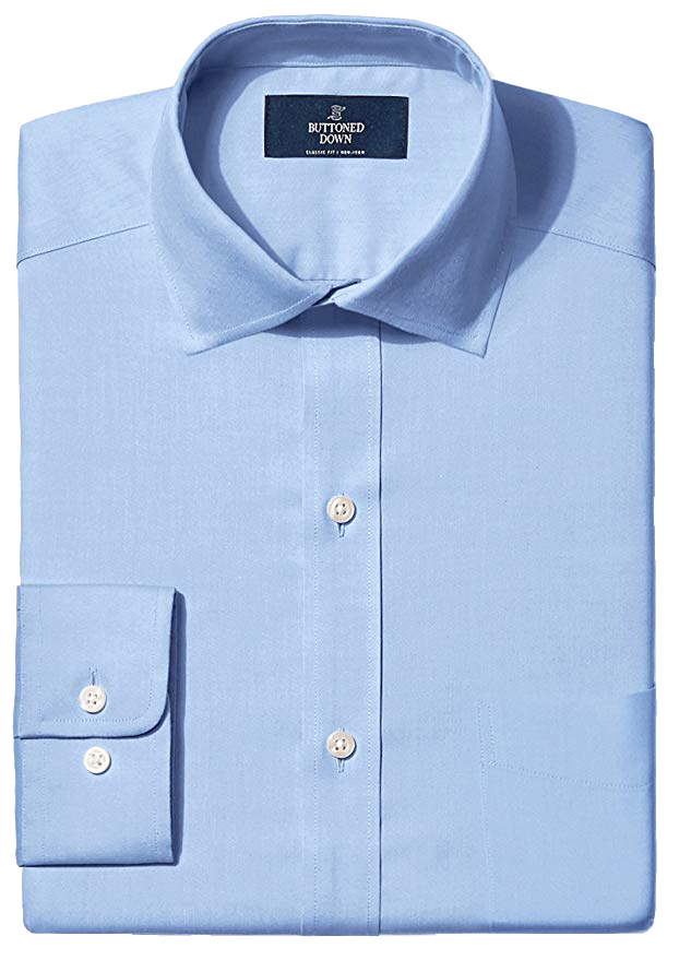 Classic Fit Blue Shirt by Buttoned Down