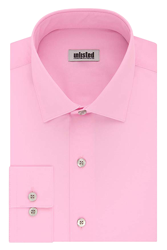 Unlisted regular fit pink shirt by Kenneth Cole
