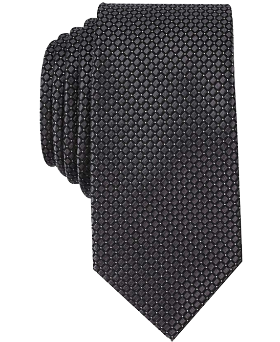 Dotted tie Black color with white dots by Nautica