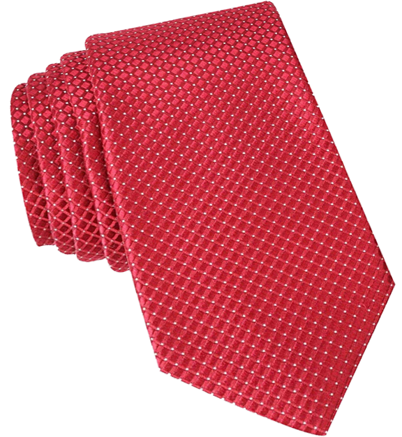 Dotted tie red color with white dots by Nautica