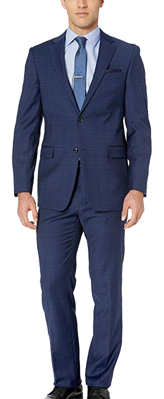 Modern Fit Blue Suit by Tommy Hilfiger