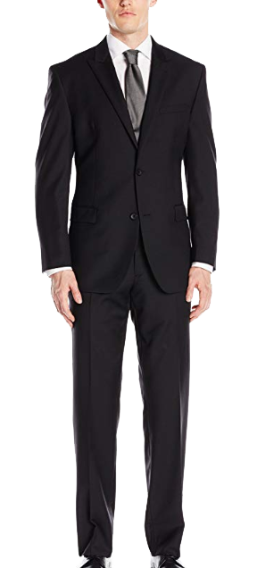 Regular fit business suit by Andrew Marc