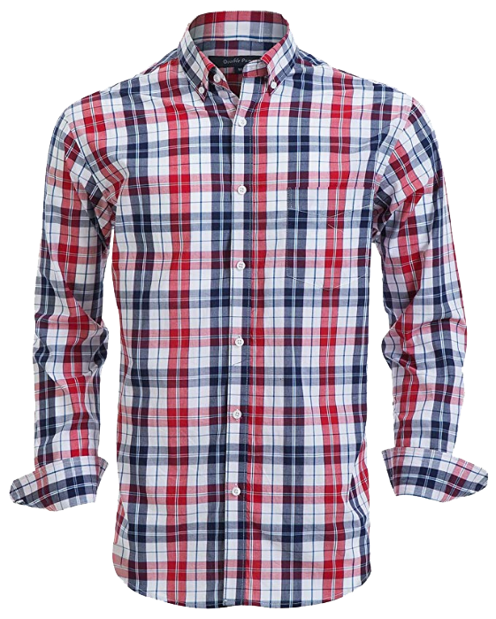 Regular fit casual shirt by Double Pump
