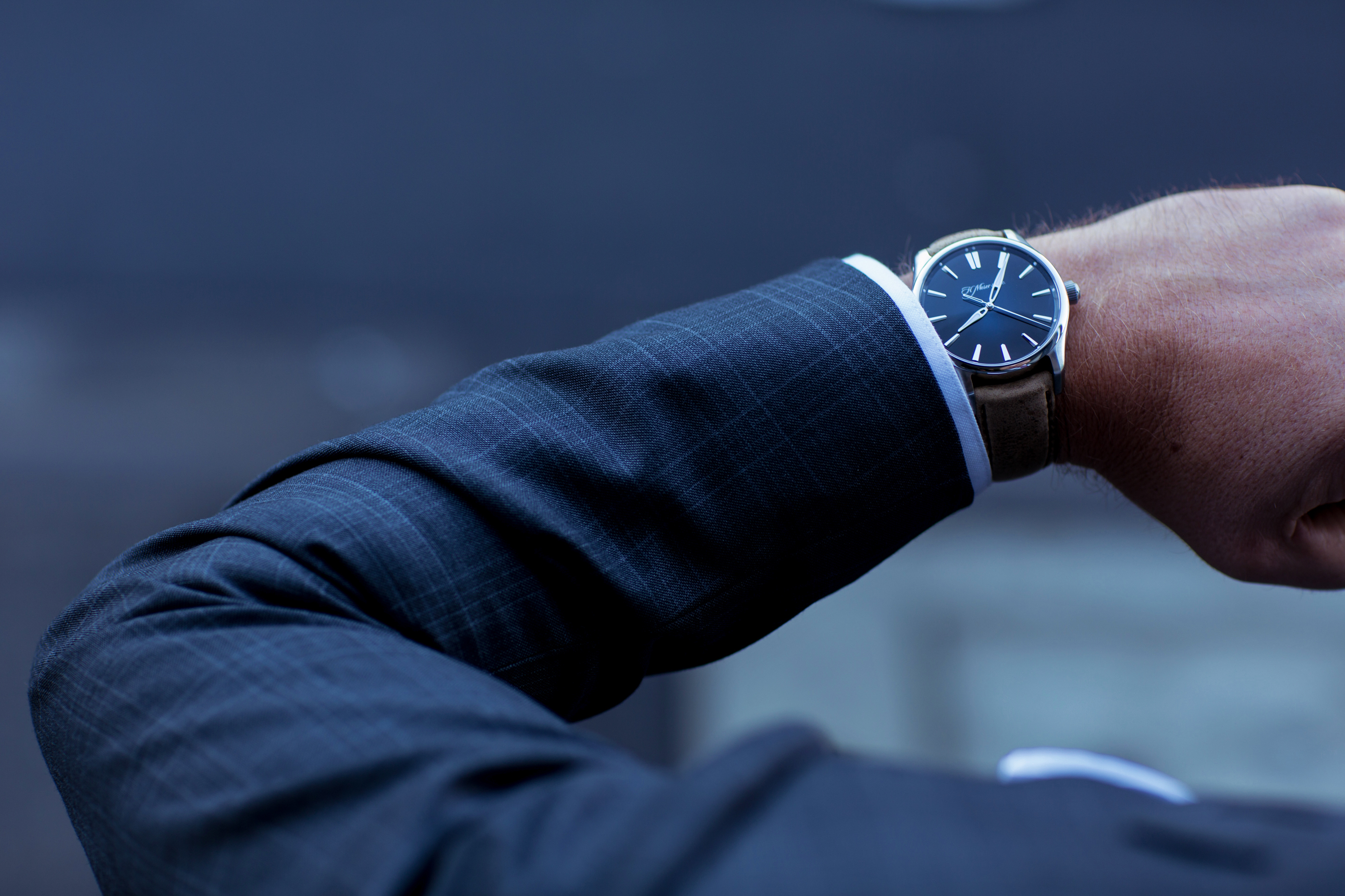 match your watch with your business professional attire
