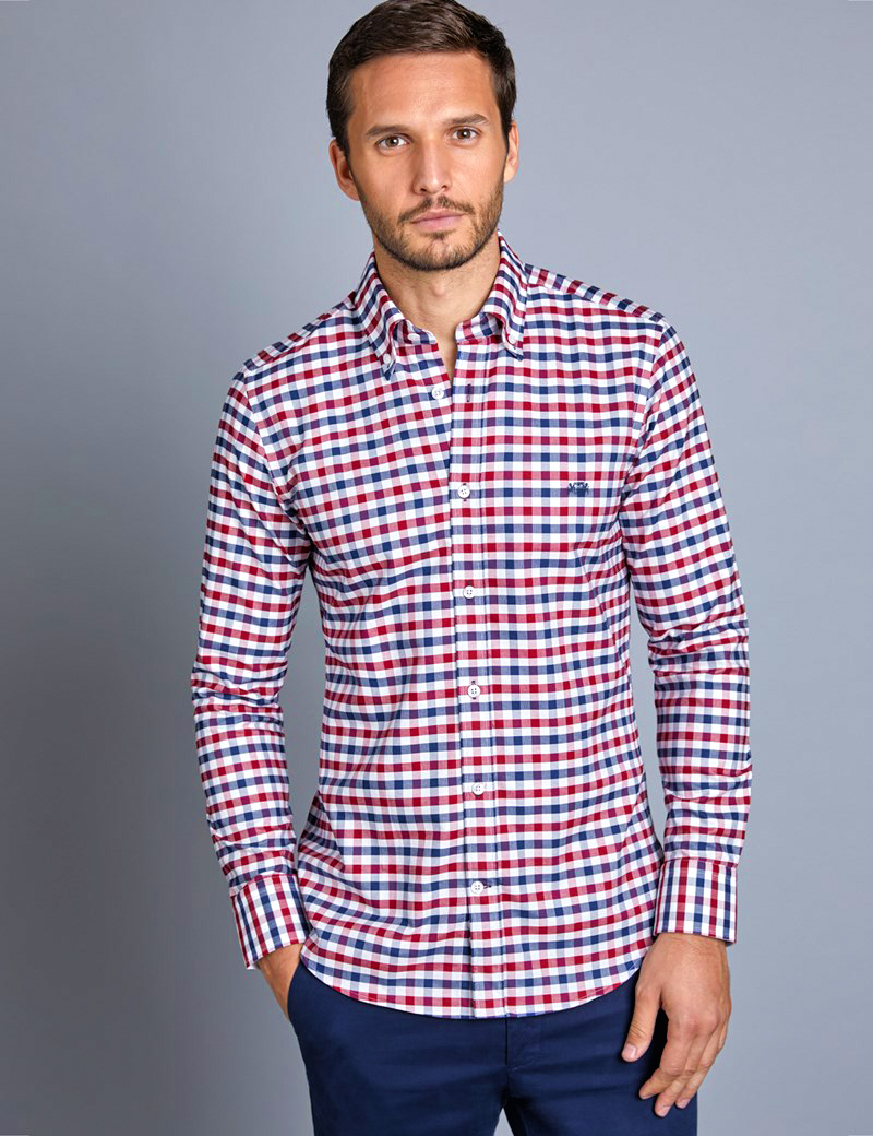 Men's startup business casual attire example