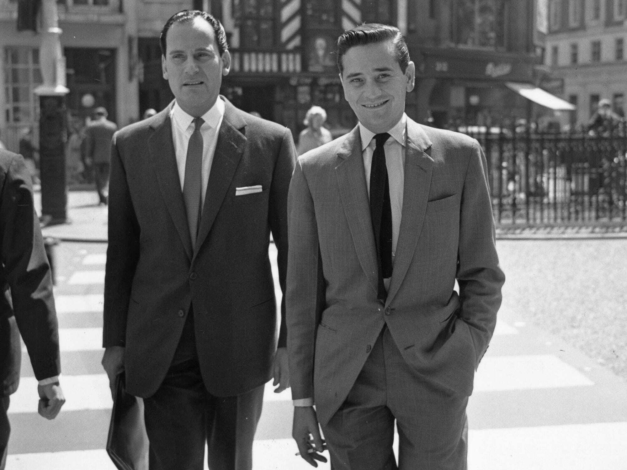 Suits were the only business attire in the 20th century