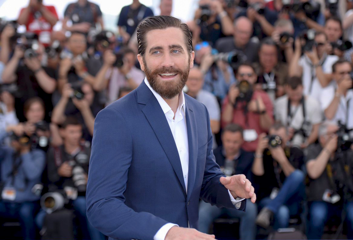 Jake Gyllenhaal wears a Brioni suit