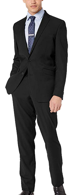 Reaction slim-fit suit by Kenneth Cole