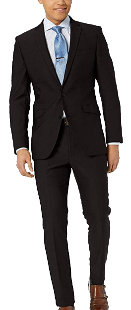 Unlisted slim-fit suit by Kenneth Cole
