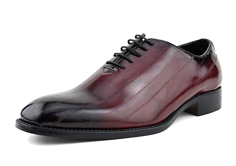 Lace-up Oxford burgundy shoes by Bolano