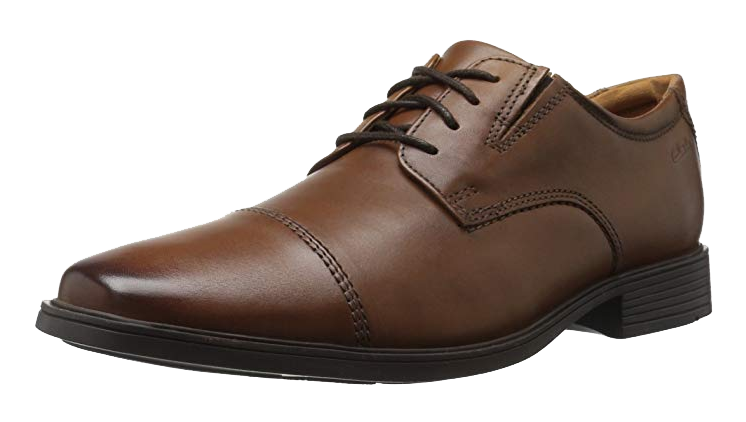 Tilden cap Derby Brown Shoes by Clarks