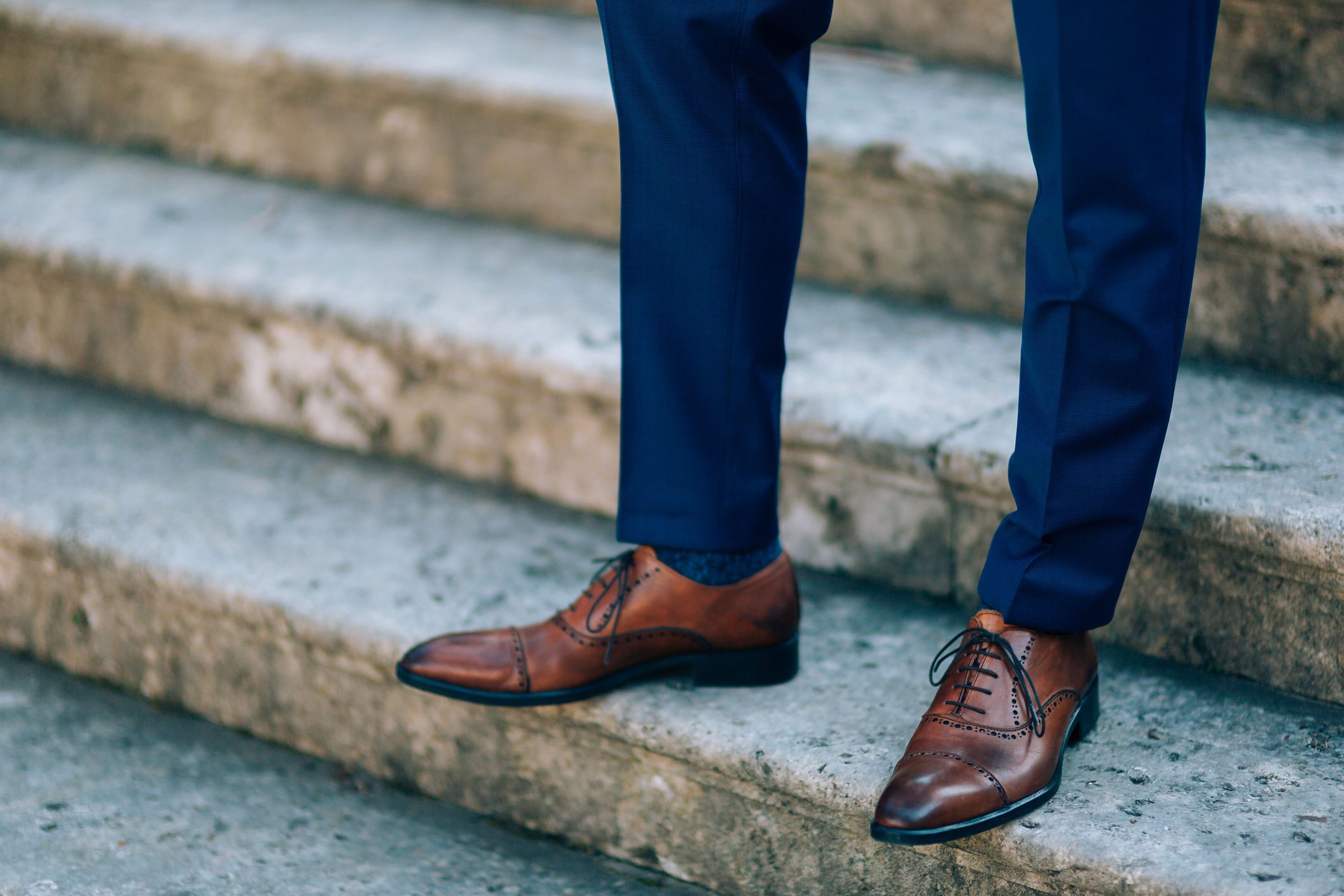 match your shoes to your suit