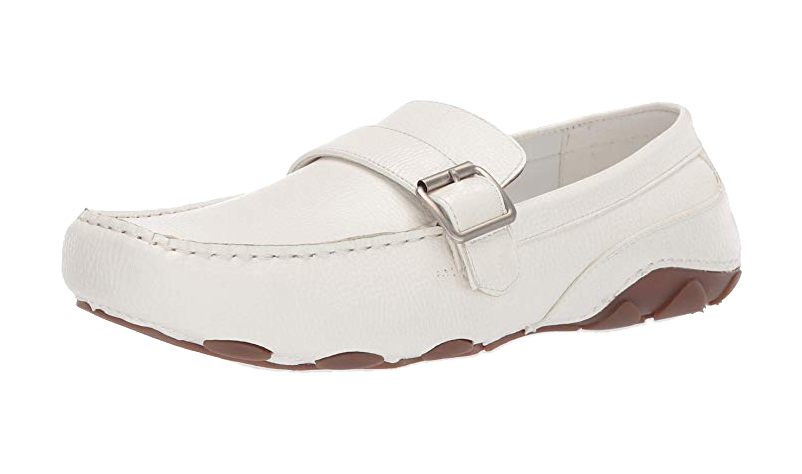 White loafers by Kenneth Cole
