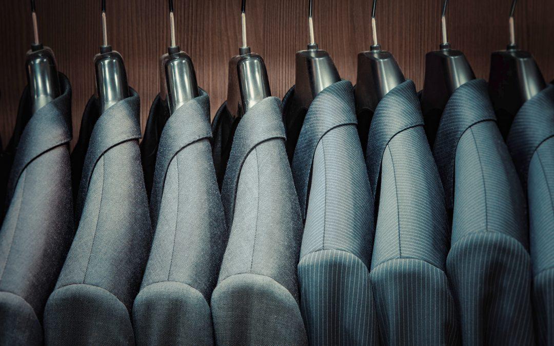 Men's suit fabrics cover