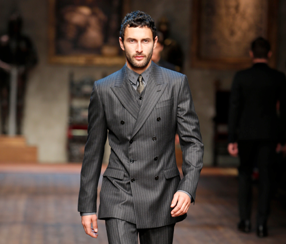 Dolce & Gabanna suit collection
