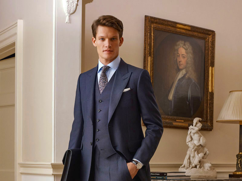Dunhill suits collection