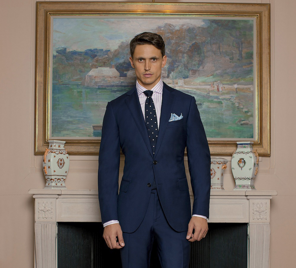 M.J. Bale suits collection